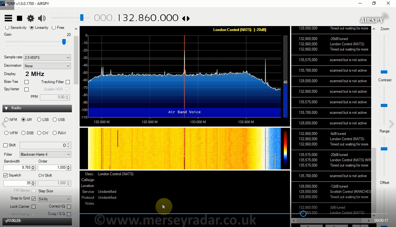 New SDR radio purchase, Airspy R2  – Mersey Radar
